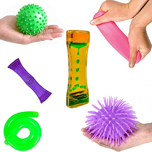 6-sensory-processing-toys-tactile-balls-liquid-motion-bubbler-stretch-string-and-marble-fidget