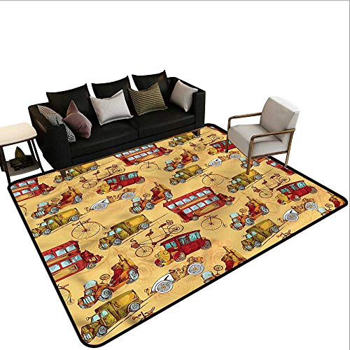 - Cars,Dining Table Rugs 64