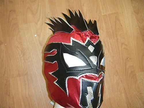 Wrestling Masks UK Kalisto - Red - Childrens Supreme Mask -