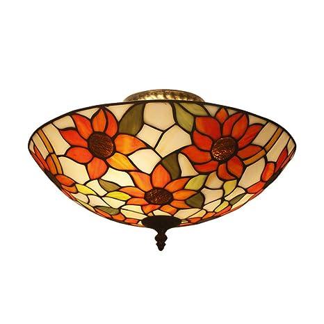 LOSA Lámpara de Mesa Tiffany/Tiffany lámpara de Techo ...