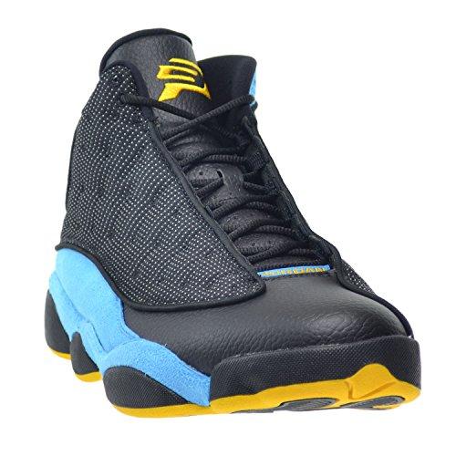 Nike Herren Air Jordan 13 Retro Cp Pe Si Trasforma In Nero, Sunstone-orion Blu
