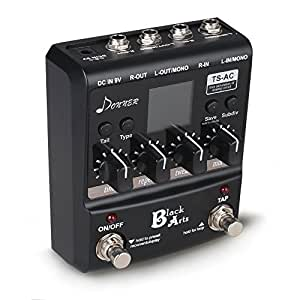 donner black arts multi digital delay guitar pedals musical instruments. Black Bedroom Furniture Sets. Home Design Ideas