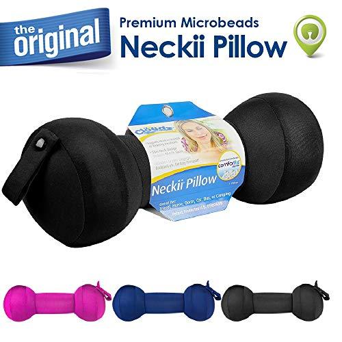 Cloudz Neckii Travel Neck Pillow - Black