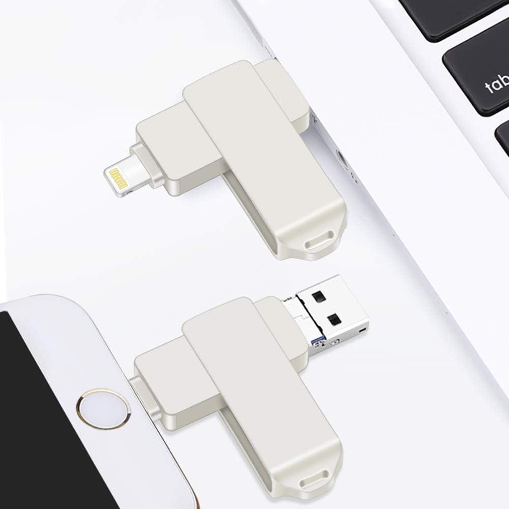 Apple Supports Android ipad Black ZUKN 360-degree Rotating USB Flash Memory Aluminum Alloy Matte Process