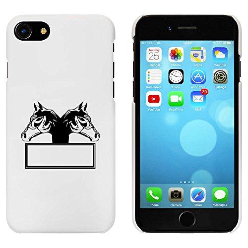 Blanc 'Cadre de Cheval' étui / housse pour iPhone 7 (MC00059864)
