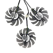 3 Pcs/lot PLD08010S12HH 4Pin 75mm For Gigabyte GTX TITAN GTX 780Ti GTX 780 GTX 770 GTX 760 R9 290 Graphics Card Cooling Fan
