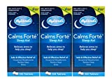 Hyland's Calms Forte Sleep Aid Tablets, Natural Relief of Stress, Anxiousness, Nervousness and Irritability, 100 Count (Pack of 3)