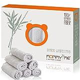 Bamboo Baby Washcloths Set (6-Pack) | Extra Soft &...