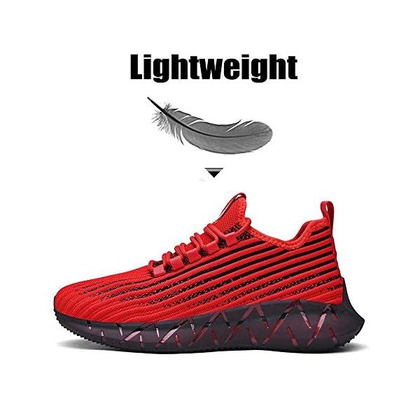 XIDISO Mode Chaussures de Sport Hommes Femmes Basket Running Compétition Training Sneakers