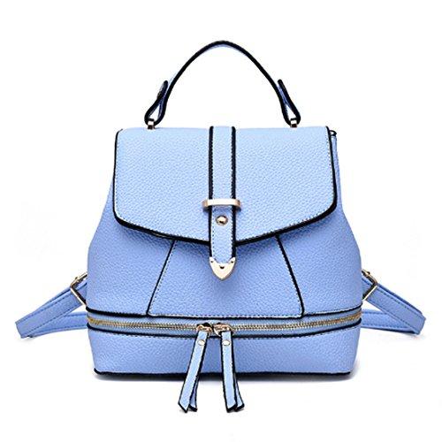 FOLLOWUS - Bolso mochila  para mujer, rosa (rosa) - G72328E azul celeste