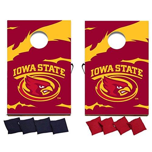 VictoryStore Gift Games - Iowa State University Cornhole Bag Toss Game (Design 1)