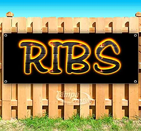 Advertising Many Sizes Available Store New Ribs 13 oz Heavy Duty Vinyl Banner Sign with Metal Grommets Flag,