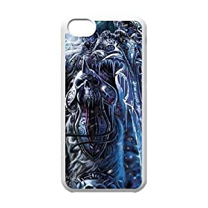iphone5c phone case White The Lich King World of Warcraft WOW SSE2614895