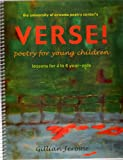 VERSE! Poetry for Young Children, Gillian Jerome, 0972763597