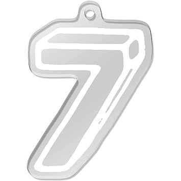 Número 7 Llavero Grande (AK00046260): Amazon.es: Juguetes y ...