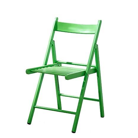 Folding chair sillas Plegables, sillas para el hogar balcón ...