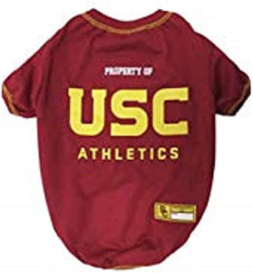 COLLEGIATE DOG SHIRT Durable SPORTS PET TEE COLLEGE PET OUTFIT 5 Sizes available in 50+ SCHOOL TEAMS DOG TEE SHIRT NCAA T-SHIRT Football /& Basketball DOGS /& CATS SHIRT