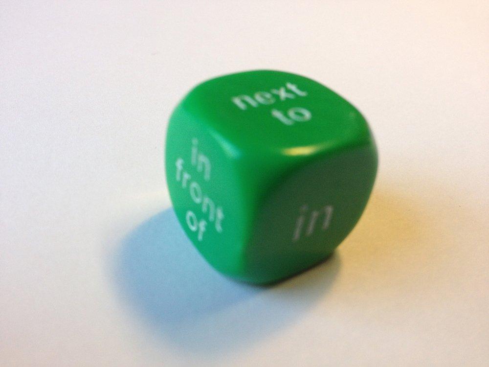 Dice - Prepositions (Mini Flashcards Language Games) pdf epub