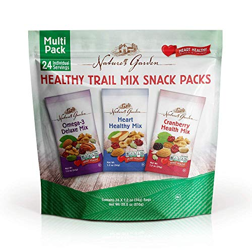 (Nature's Garden Healthy Trail Mix Snack Pack 28.8 oz (Pack of 2))