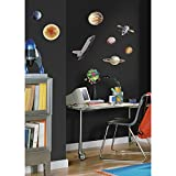 RoomMates RMK1003SCS Space Travel Peel and Stick Wall Decals