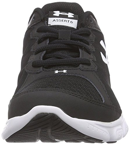 Under Armour UA BGS Micro G Assert 6 - Zapatillas de Running Niños White/Black/White