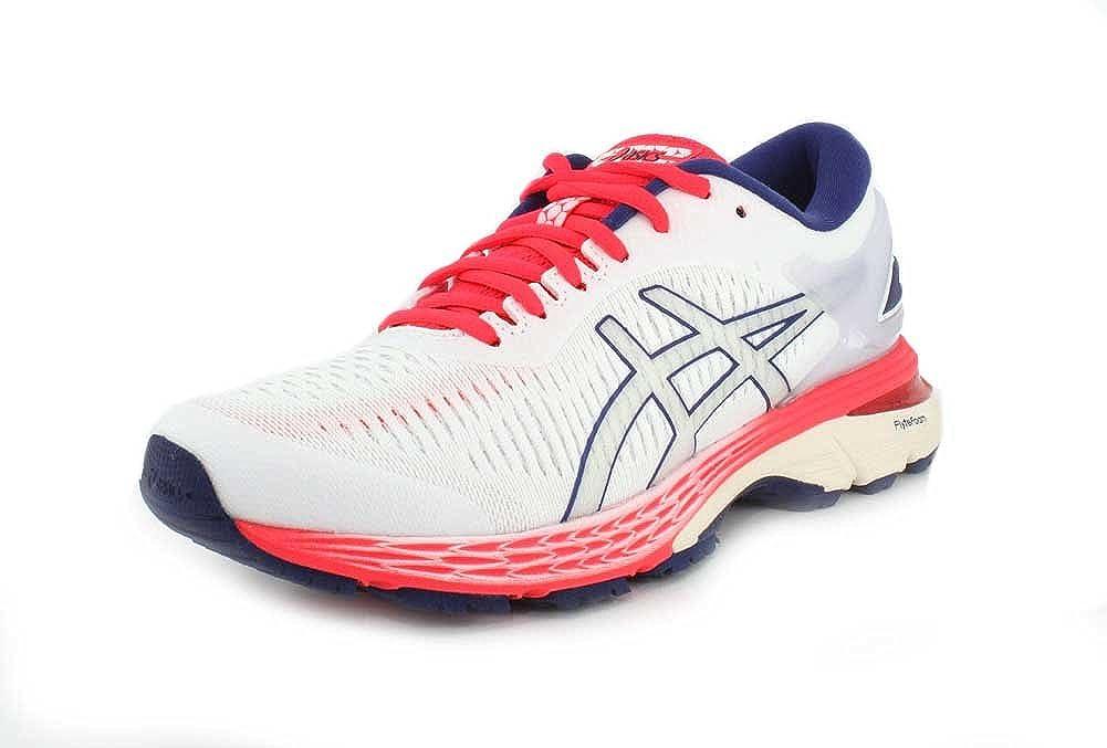 Asics - Gel-Kayano 25 - Zapatillas de running para mujer., Blanco (Blanco/Blanco), 37 EU: Amazon.es: Zapatos y complementos