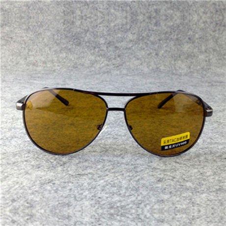 Gold Conducción Reducir Amarillo Conducción Polarizado Gafas la Visión Marca Gafas Sol Nocturna Oro de de Nocturna Mens de Hombres Lente Diseñador Gafas GGSSYY Deslumbramiento wSRfqEg7n