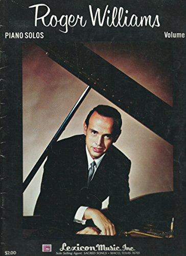 Roger Williams Piano Solos Volume 1