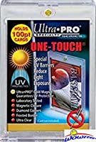 (5) Ultra Pro One Touch Magnetic Card Holders # 81911UV (Fits up to 100pt Card). Holds Standard Size Baseball, Football, Basketball, Sports Cards, Gaming & Trading Cards Collecting Supplies! WOWZZER!