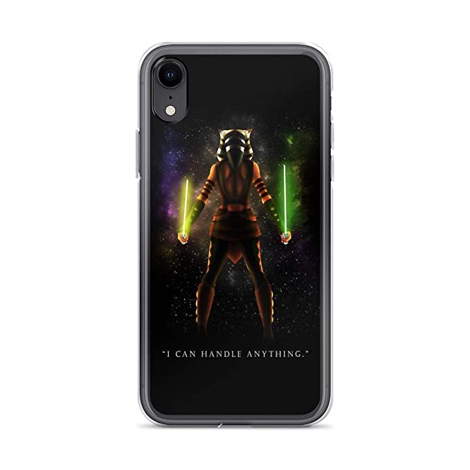 free shipping 5baa1 30da2 Amazon.com: iPhone XR Pure Clear Case Cases Cover Ahsoka Tano - I ...