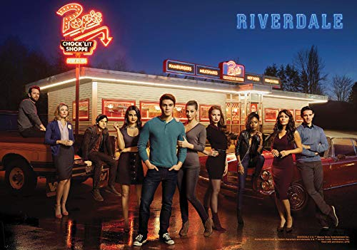 Trends International 8.25x11.75 MDF-Riverdale-Group Wall Poster, 8.25