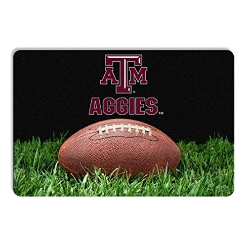 Pet Care Preferred Texas A&M Aggies Classic Football Pet Bowl Mat by Pet Care Preferred