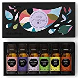 HOME Aroma Set 100% Pure Therapeutic Grade Essential Oil Kit- 6/10 ml of Grapefruit, Hope, Lavender (Spike), Peppermint, Sunshine Spice and Wild Orange Aromatherapy Oils by Edens Garden offers