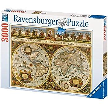 Amazon ravensburger world map 1665 3000 piece puzzle toys ravensburger world map 1665 3000 piece puzzle sciox Choice Image