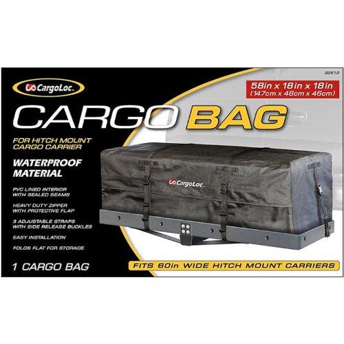 """CargoLoc 58"""" x 18"""" x 18"""" Cargo Bag for Hitch Mounts- Wate..."""