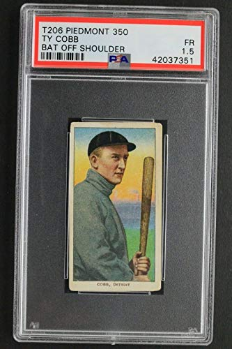 1910 T206 Piedmont 350 Ty Cobb Bat Off Shoulder Graded for sale  Delivered anywhere in USA