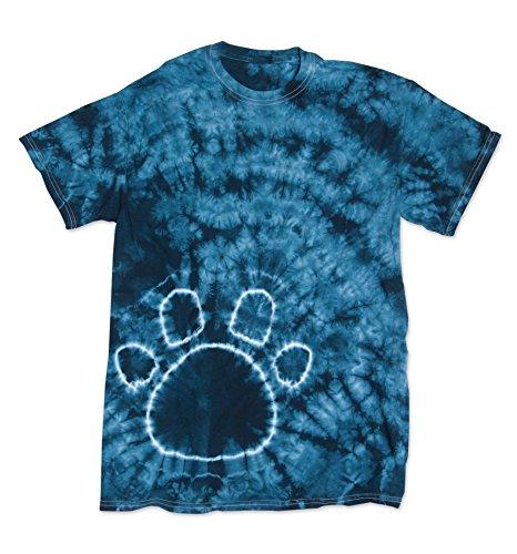 shirt T Pawprint Courtes Manches Garçon 2bhip Opaque Navy xCnBw5d