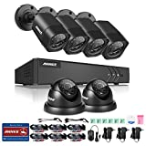 Annke 8CH 1080N Surveillance DVR System and (6) 720P CCTV Security Cameras, Vandal &Weather-proof Housing, P2P Technology/E-Cloud Service, NO HDD Review
