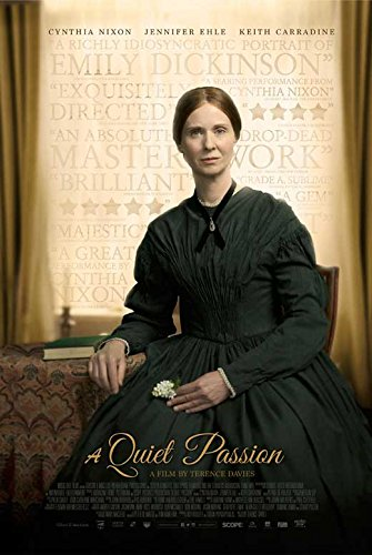 A Quiet Passion Movie Poster Cynthia Nixon, Jennifer Ehle, A, Made In The U.S.A