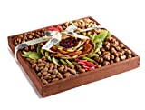 The Nuttery MEGA Premium Fresh Dried Fruit and Nuts Gift Platter, Great Gift Giving Basket