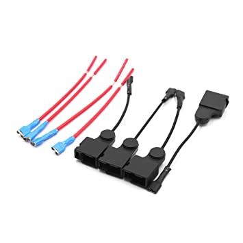 amazon com uxcell a17061900ux1340 4pcs plastic car horn speaker BMW E46 Wiring Harness