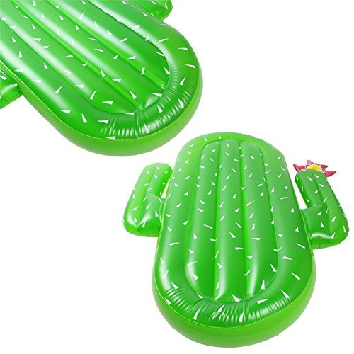 Lumiparty Inflatable Cactus Pool Float
