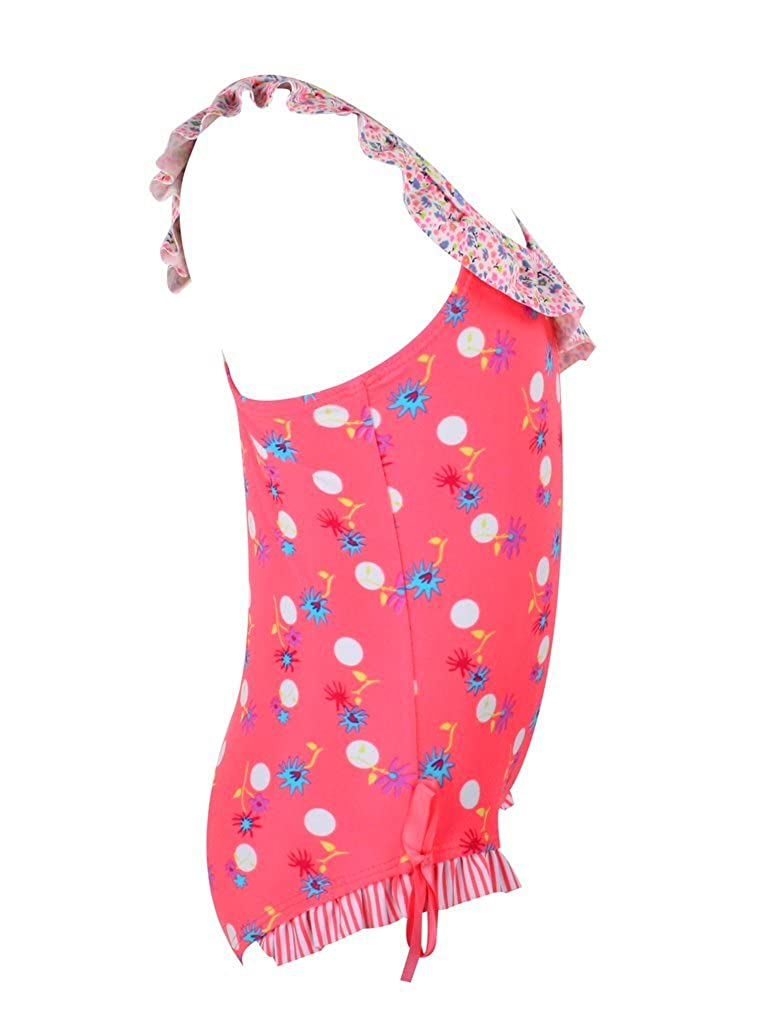 Dalary Baby Girls Retro Floral One Piece Swimsuit