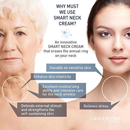 SKEDERM Smart Neck Cream Neck Firming Support With Skinergium Bio Peptide Complex 17 Fl Oz 50ml