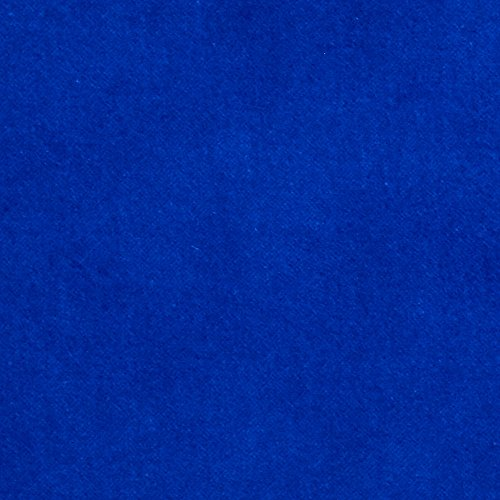 Kaufman Lush Velveteen Royal Fabric By The Yard