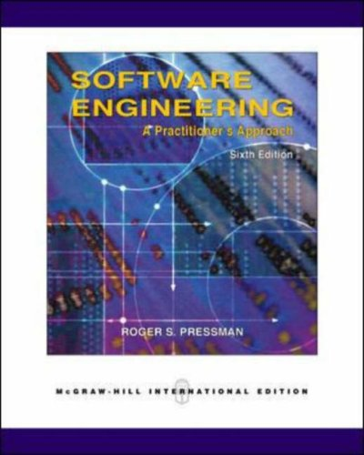 Software Engineering: A Practitioner's Approach 6th edition ()