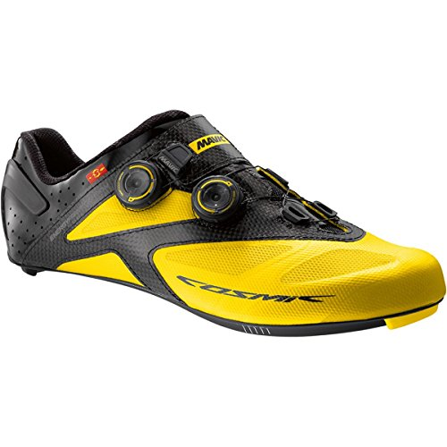 Mavic Cosmic Ultimate II Shoe - Men's Yellow Black, US 11.5/UK (Mavic Cosmic Carbone Ultimate)