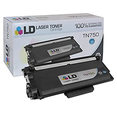 LD Compatible Brother TN750 Black High Yield Laser Cartridges
