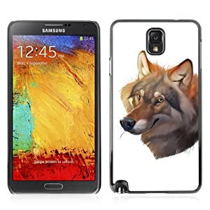 YOYOSHOP [Beautiful Wolf Painting] Samsung Galaxy Note 3 Case