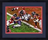#1: Framed James White New England Patriots Autographed 8
